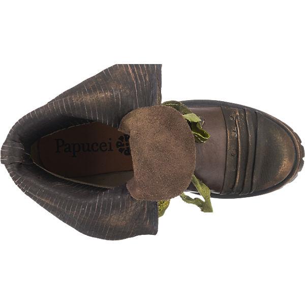Papucei Hudson Stiefeletten braun