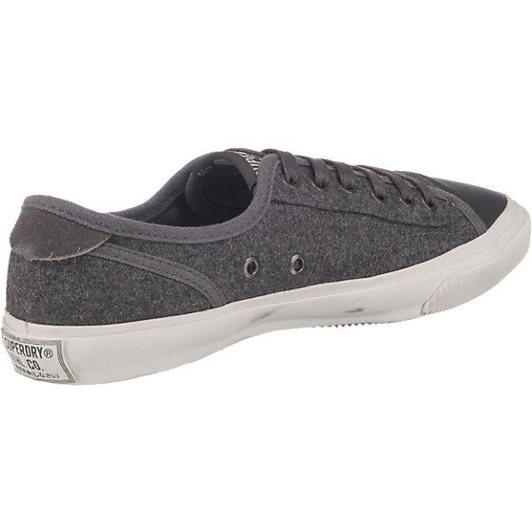 Superdry Low Pro Sneakers dunkelgrau