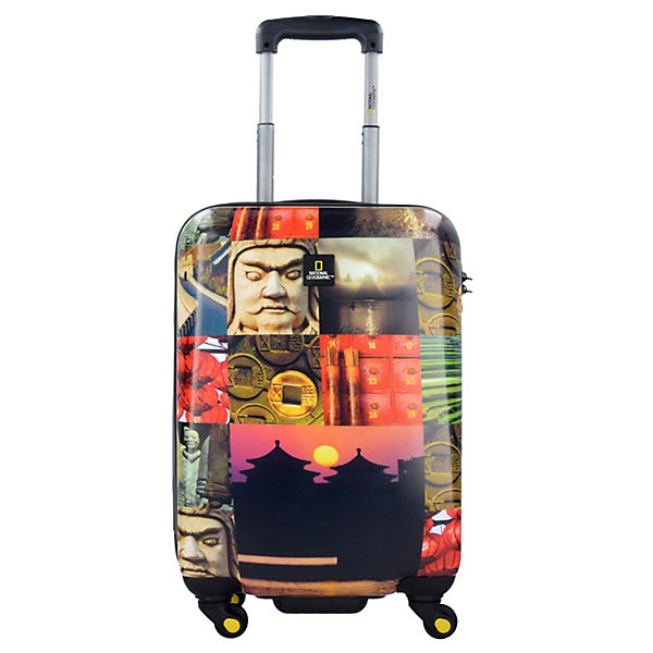 National Geographic Adventure of Life City China 4-Rollen Kabinentrolley 55 cm mehrfarbig