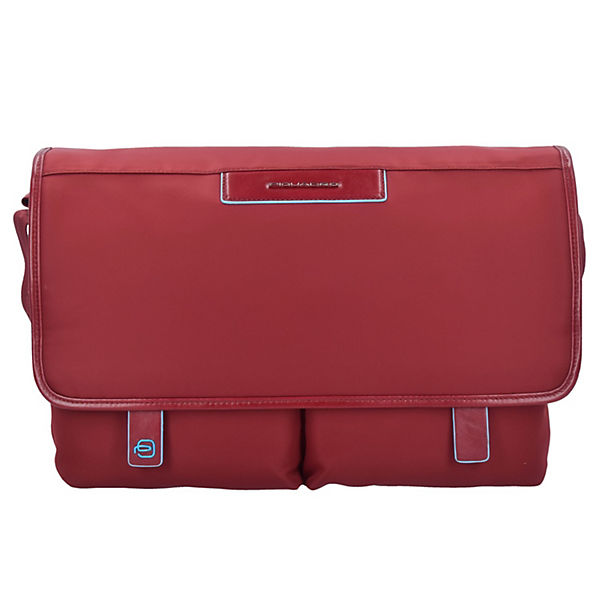 Piquadro Celion Messenger Bag 39 cm Laptopfach rot