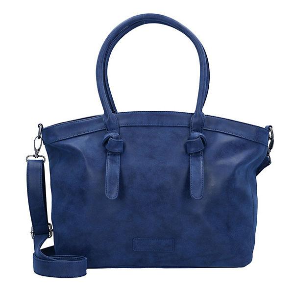 Fritzi aus Preußen Ivett Vintage Shopper blau