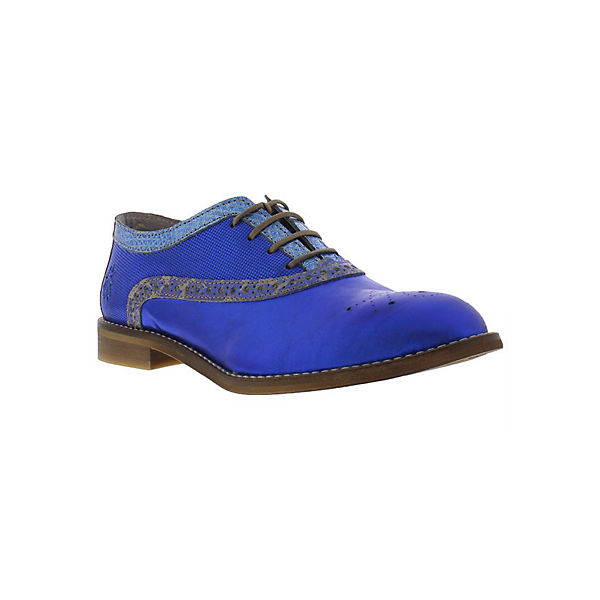 Halbschuhe EILE943FLY leather combo blau