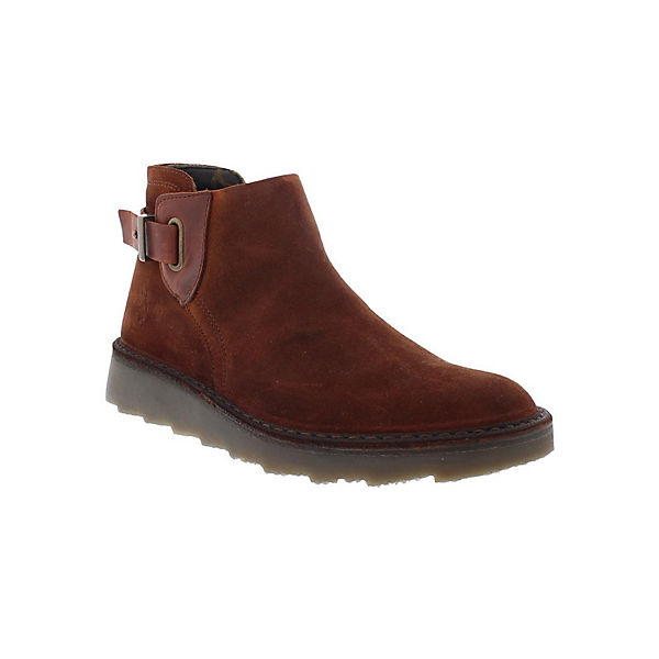 Stiefeletten AMIE954FLY oil suede/rug rot