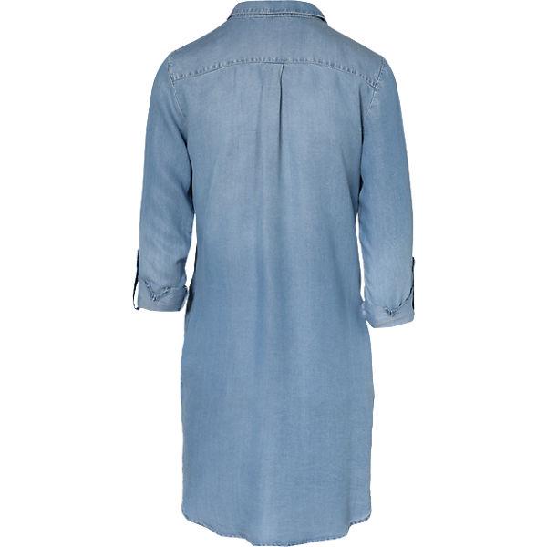 SHORT NOO MODA weiblich VMSILLA blau LT VERO BL Kleider GA LS DRESS 7Atn8q8