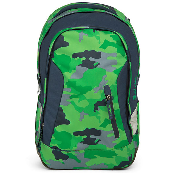 Schulrucksack Sleek grün