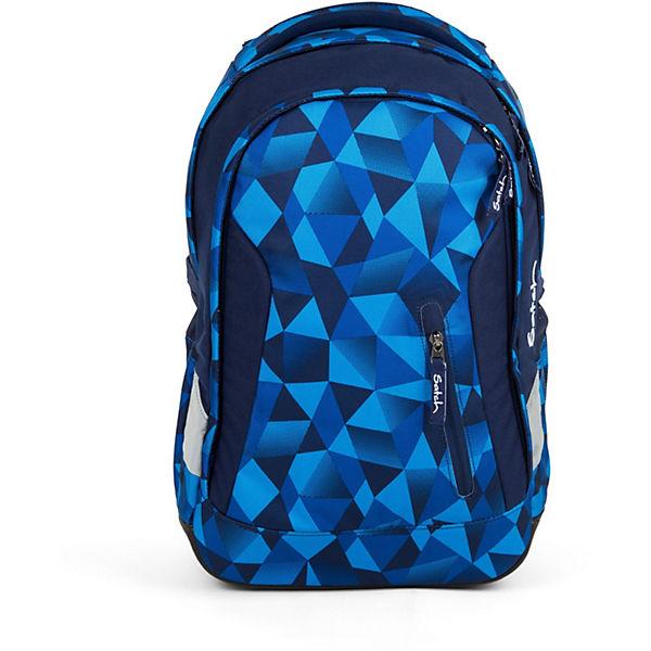 Schulrucksack Sleek blau