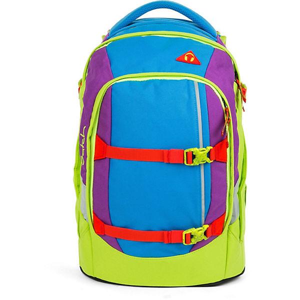 Schulrucksack mehrfarbig