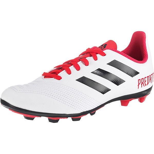 Performance J 4 FxG Jungen Fußballschuhe für PREDATOR 18 weiß adidas wgxqYdTFg