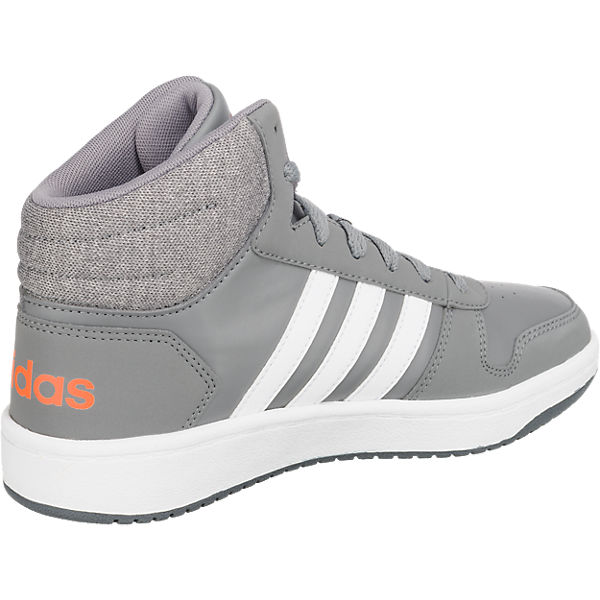 Inspired Jungen MID K Sneakers 0 Sport adidas HOOPS 2 für grau High 5nxO67