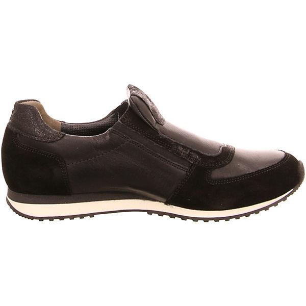 Slip-on-Sneaker schwarz