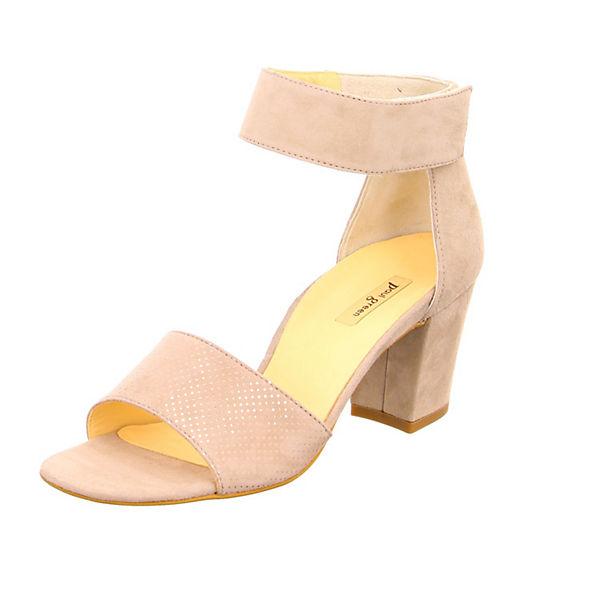Klassische Sandaletten beige