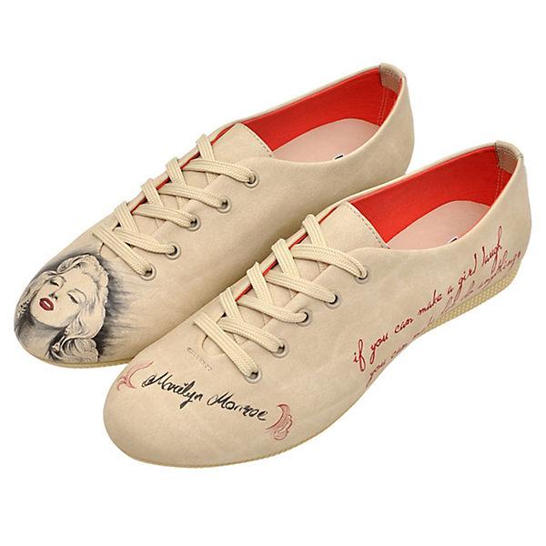 Schnürschuhe Marilyn Monroe mehrfarbig