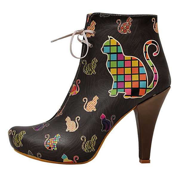Ankle Boots Kittens mehrfarbig