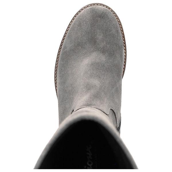 Klassische Stiefel Aminata grau