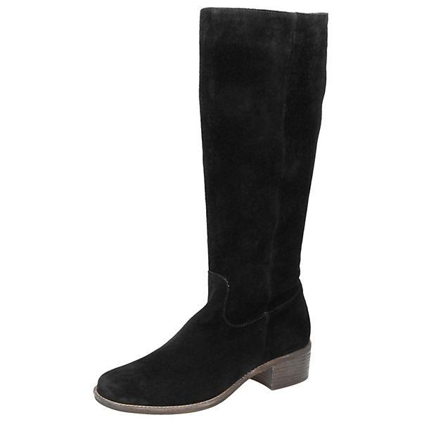 Klassische Stiefel Aminata schwarz