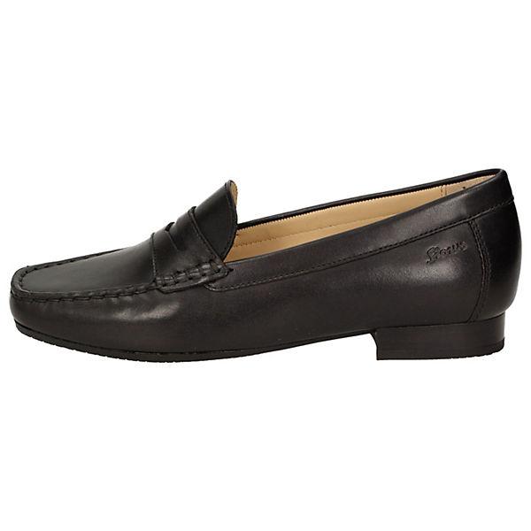 Klassische Slipper Corbina schwarz