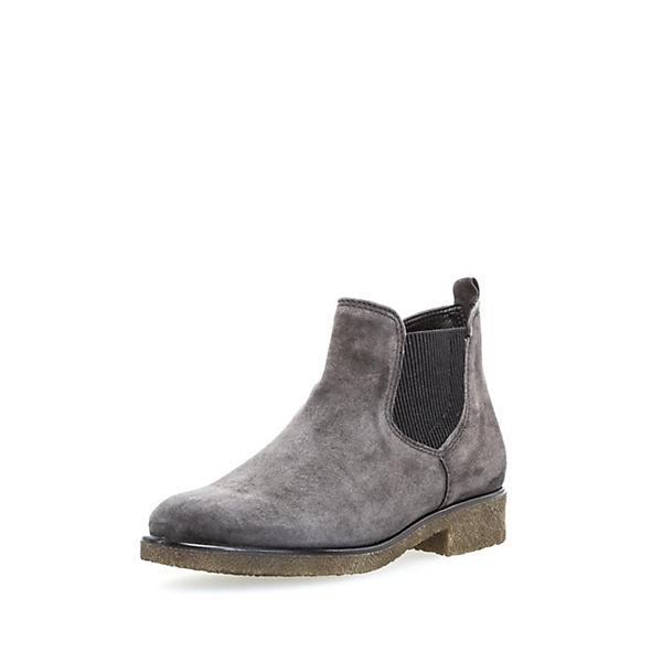 Komfort-Stiefeletten grau