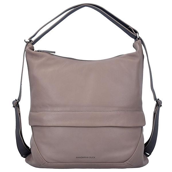 Handtasche Slide grau