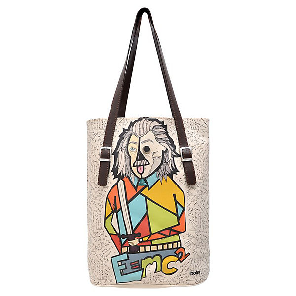 Umhängetasche Tall Bag Sciencecubic series quantum king bunt