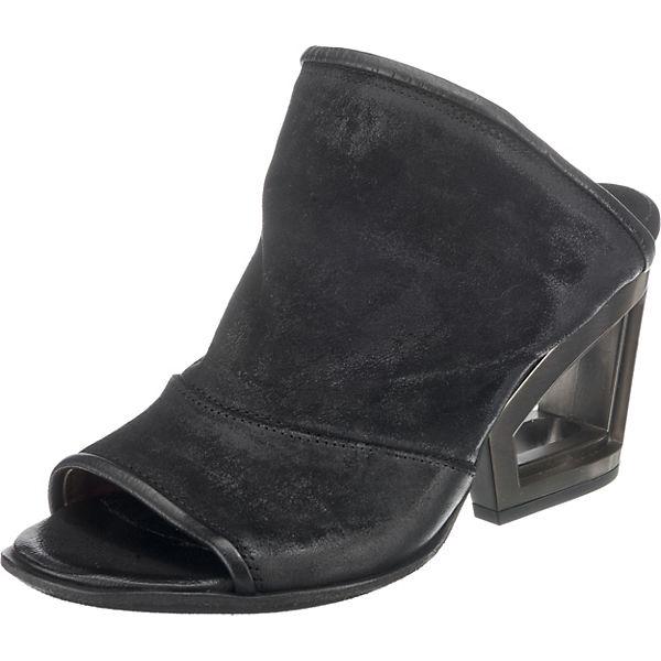 schwarz schwarz A Pantoletten 98 S 98 A Pantoletten A S APwCqC