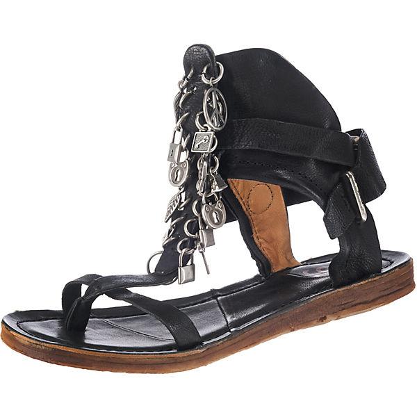 Sandalen schwarz S A Klassische 98 ZqanWXBwA