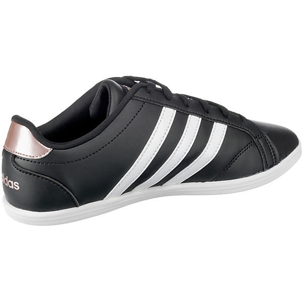 Qt Inspired schwarz Low Sneakers adidas Modell Sport 1 Coneo qfWvwnnt5