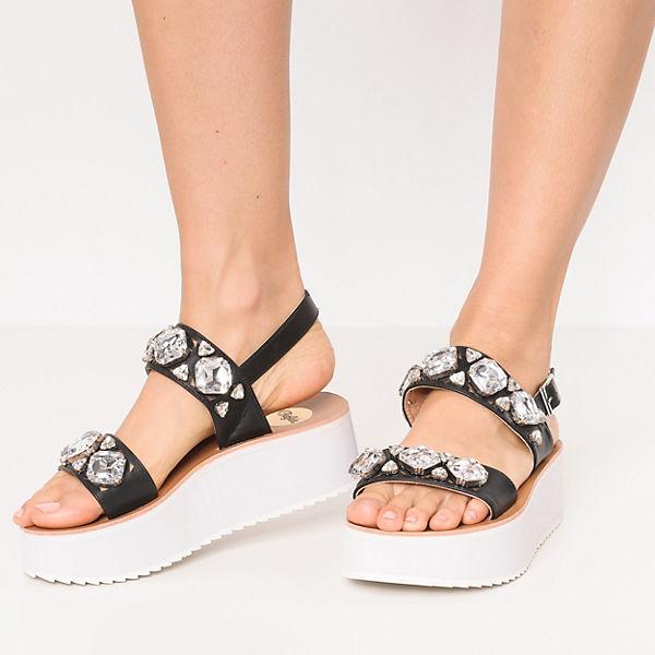 BUFFALO Klassische Sandalen schwarz