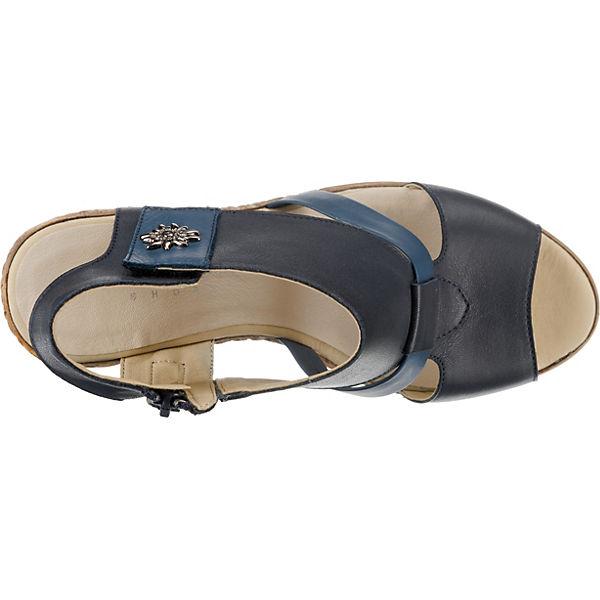 Sandaletten Klassische Conti Andrea blau kombi xgw0FOqp