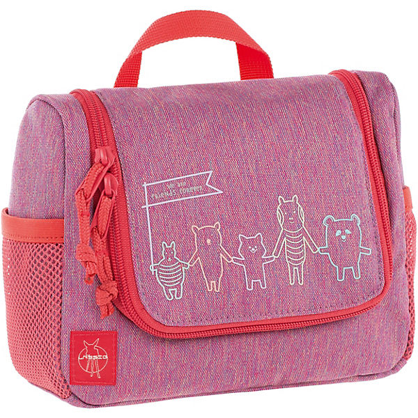 Lässig Washbag Kulturbeutel Mini pink pink About Friends 4Kids rwr4H