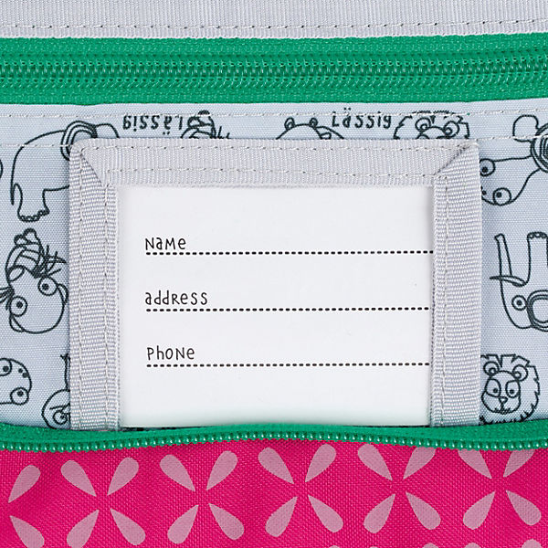 Elephant Kulturbeutel Washbag Wildlife Lässig pink Mini 4Kids PTCwXAXq
