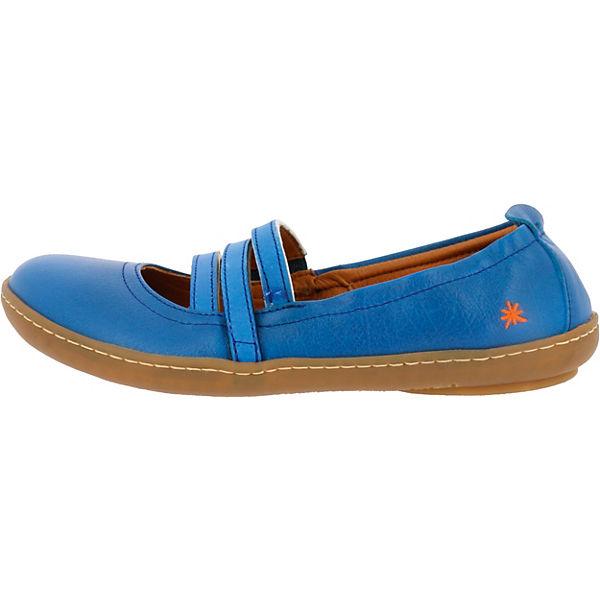 Sea 1291 Kio blau Riemchenballerinas Memphis YwRxqfa