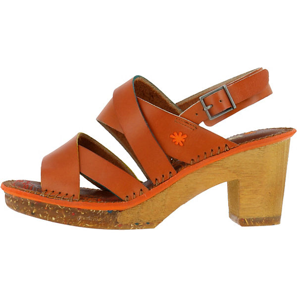 Cuero 1055 Klassische Amsterdam Sandaletten Vachetta Mojave braun BAwnApvzqE