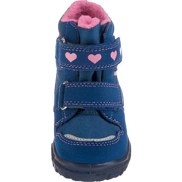 gefüttert Baby M4 HUSKY1 Winterstiefel Weite TEX blau GORE für superfit Mädchen 46qfzwzR