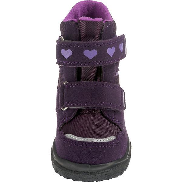 superfit Winterstiefel Baby TEX M4 für Mädchen Weite lila gefüttert HUSKY1 GORE wwPn15qr