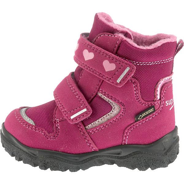 superfit Baby HUSKY1 Mädchen pink für M4 Winterstiefel TEX gefüttert GORE Weite xZZrTw