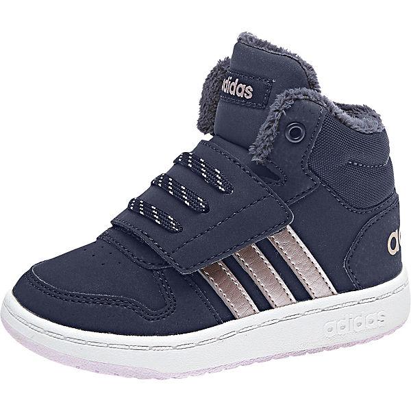 blau High weiß 0 adidas MID Inspired HOOPS für Jungen Sport 2 Sneakers ZRw1tvTq