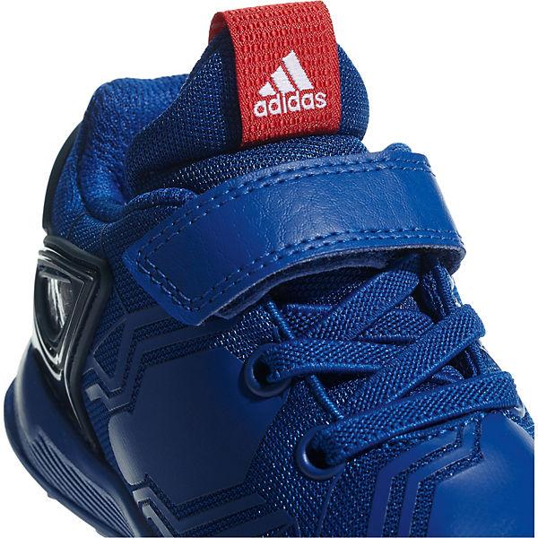 blau RapidaRun Sportschuhe adidas Performance Jungen SPIDERMAN für TYFZwqA