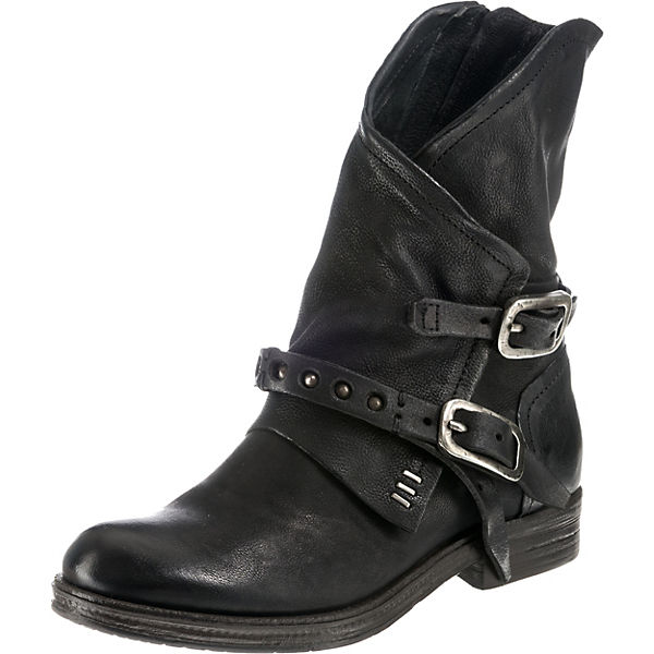 98 Klassische schwarz Stiefeletten A S AaZxff