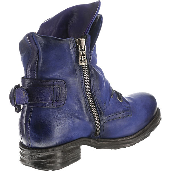 blau lila Klassische A 98 Stiefeletten S SxqYnIw1