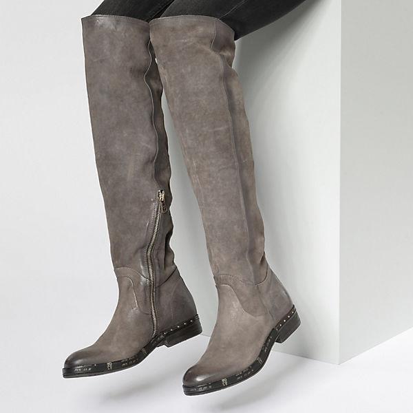 grau S Stiefel 98 Overknee A kombi ZF8zqw