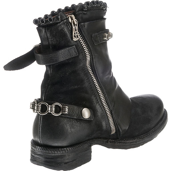 A S schwarz Stiefeletten 98 Klassische RfxqwR7zP