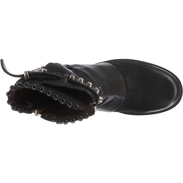 Klassische 98 A schwarz Stiefeletten S ZE4wqzv