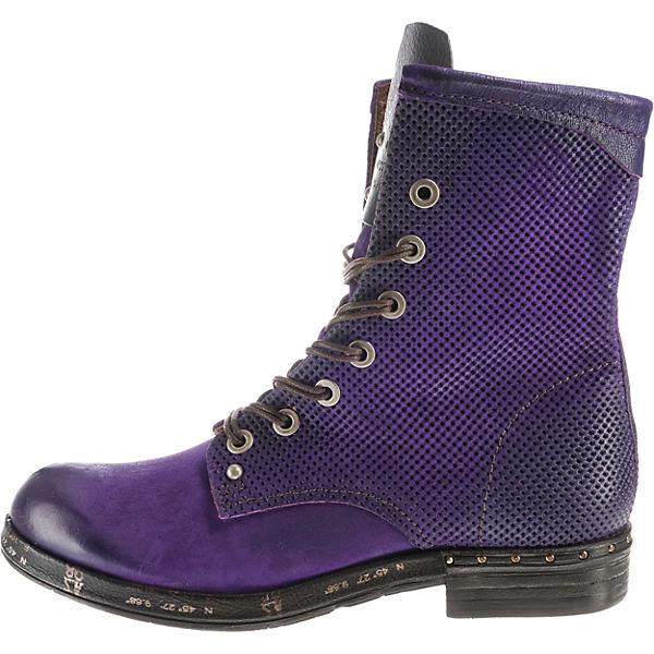 S violett 98 S violett Schnürstiefeletten Schnürstiefeletten A 98 A Cxw5BZn7
