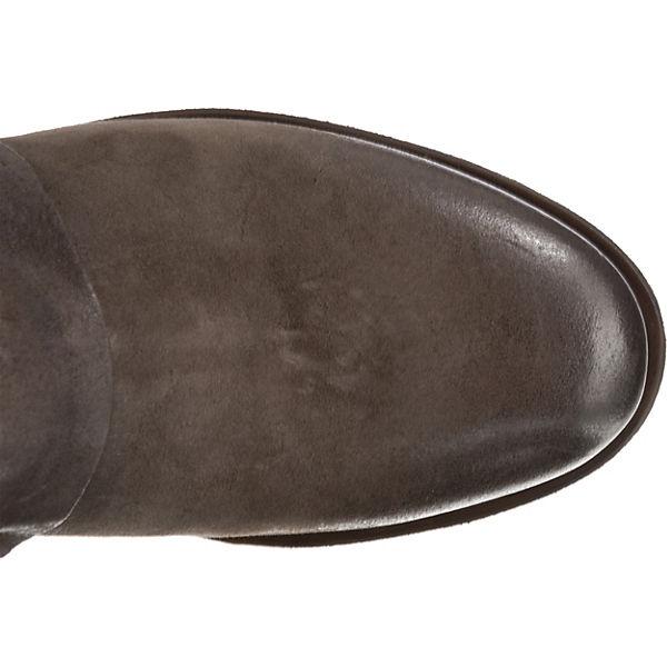 Stiefel kombi 98 grau S Overknee A fxwgPq0Yn