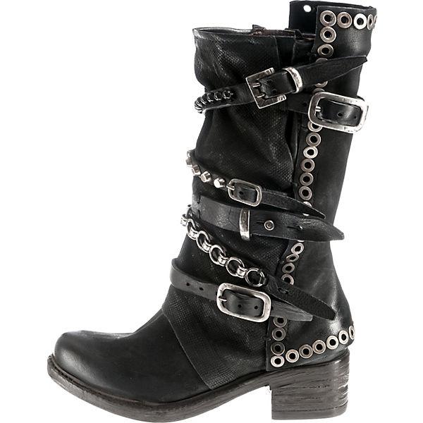 schwarz 98 S Klassische Stiefel A 6OcvqPv