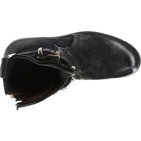 S Klassische schwarz Stiefeletten A 98 wX7dxvqv