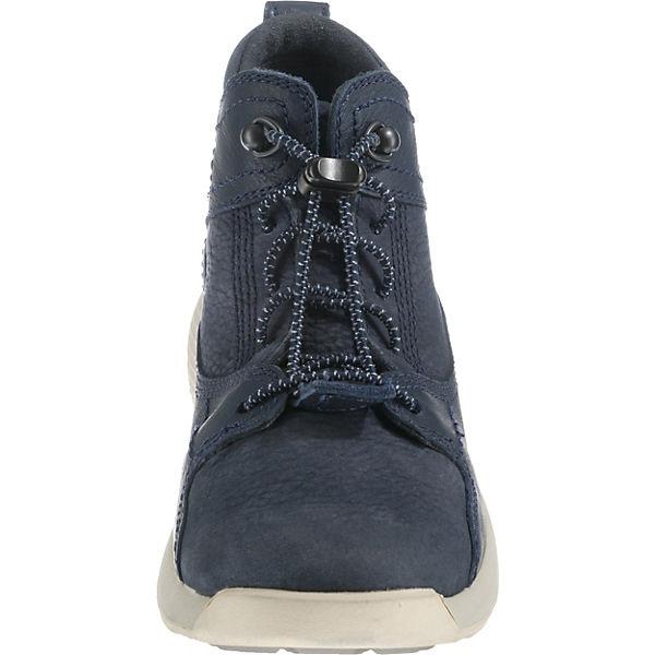 Timberland Sneakers High FLYROAM LEATHER HIKE BLACK IRIS für Jungen blau