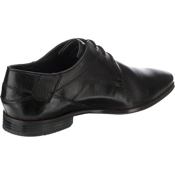 schwarz Morino bugatti Schnürschuhe Morino bugatti Business wq8Xzwx0