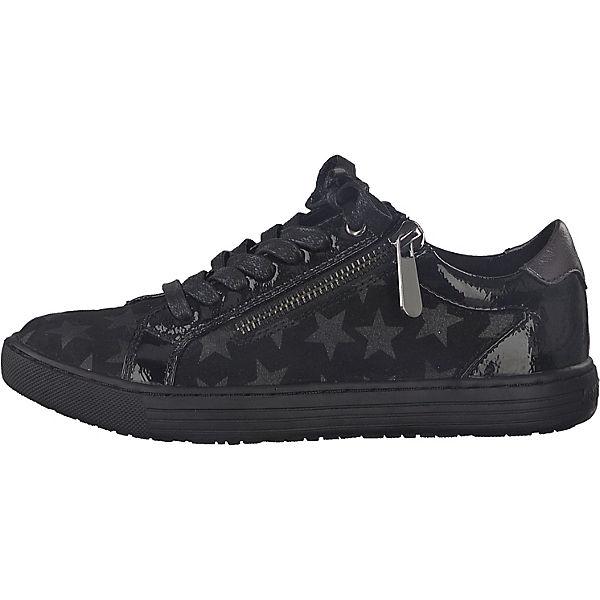 MARCO TOZZI Sneakers Low für Mädchen schwarz