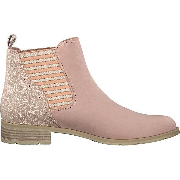 MARCO TOZZI Chelsea Boots rosa